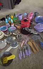 Lot of pots, pans ,dishes and accessories Over 75 pcs