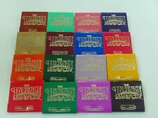THE ORIGINAL INCENSE MATCH SCENTED MATCHES 16 FRAGENCES SCENTS TO PICK FROM