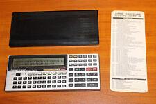 """CALCULADORA """"CASIO FX-880P"""" PERSONAL COMPUTER #2"""