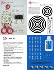 1993 Bally/Midway Twilight Zone Pinball Tune-up Kit - Includes Rubber Ring Kit
