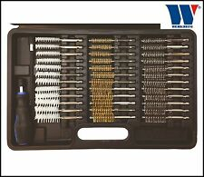 Werkzeug - 38 Pcs Brush Set, 12 x Steel, Brass, Nylon - Dia 8-19 mm - Pro - 8007
