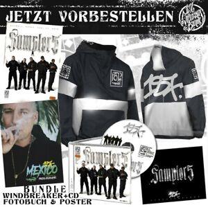 187 Strassenbande - Sampler 5 Bundle CD + Windbreaker Gr. M + Fotobuch + Poster