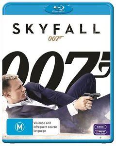 Skyfall 007 DVD Blu-ray Disc Region B