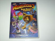 "DVD DREAMWORKS "" MADAGASCAR 3 BONS BAISERS D'EUROPE """