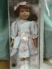 """NEW in case 18"""" Diana Euro doll  White Dress plus 3 additional original outfits"""