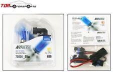 NOKYA Halogen Light Bulbs+Wire Harnesses H10 9145 Arctic White 7000K S2 55W