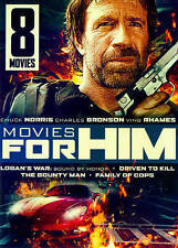 Movies for Him: 8 Movies (DVD, 2014, 2-Disc Set)