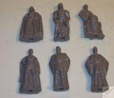 6x Star Wars Figuren ca. 65mm. Selten, mit Dia innen drinnen. Sammlung Figur