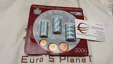 2006 minikit 1,68 euro SAINT MARIN 21 x 1 c + 2 c + 5 c 63 pièces San Marino