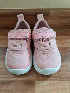 Baby Girls Clarks Trainers Infant Size 4F