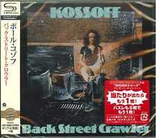 PAUL KOSSOFF-BACK STREET CRAWLER-JAPAN SHM-CD  D50