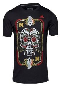 adidas Mexico Soccer T-Shirt Logo Go To Performance Tee Shirt