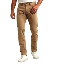 Lucky Brand 121 Slim Straight 2 Way Stretch Tan Men 32 34 36 New