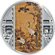 Cook Islands 2017 20$ Masterpieces of Art - Shen Quan 3oz Silver Coin