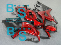 Red Glossy INJECTION Fairing Kit Fit Honda CBR1000RR 2006-2007 59 A4