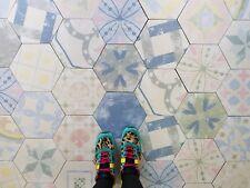 Anatolia Hexagon Multi Colour Patchwork Victorian Porcelain Wall & Floor Tiles