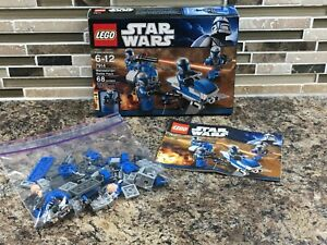 Lego Star Wars 7914 Mandalorian Battle Pack 100% Complete w/manual box and parts
