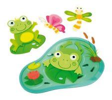 Dekosticker Frosch Wandbild Wandtatoo Kinderzimmer Kinder Sticker Deko NEU