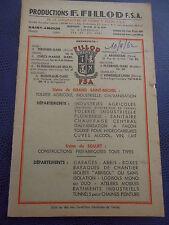 catalogue de tôlerie matériel de ferme Saint Amour 39 Jura année 1962 (ref 48 D)