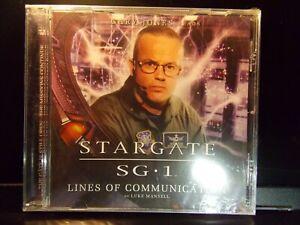 Stargate SG-1 Lines of Communication Big Finish Audio Drama CD Gary Jones