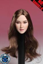 En Stock 1/6 Escala Super Pato Angelababy Chica 1 cabeza esculpida para Phicen Cuerpo