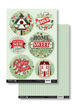 NEW HOME - Topper & Backing Sheet Set - Die Cut