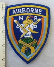 AIRBORNE MP PATCH Made for US ARMY VETERANS & COLLECTORS