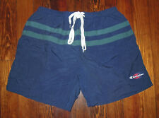 Champion Swim Trunks Board Shorts Vintage 90s Y2K Spell Out Beach Surf Large