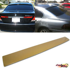 For BMW E65 E66 7-Series 4DR Rear Roof Spoiler Wing A Type ABS 750i 760Li ☆