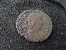 Nice rare Roman coin of Constantius 11 rev. Fel temp repartio uncleaned L39b