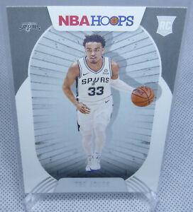 2020-21 Panini NBA Hoops Basketball Tre Jones Rookie Card #208 SPURS