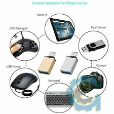 Lot USB C Male to USB A Female Adapter Sync Data Hub OTG Function Samsung LG HTC