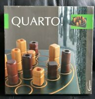 Vintage QUARTO! Gigamic Statergy Board Game