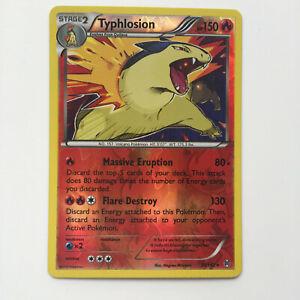 Typhlosion 20/162 Rare XY Breakthrough Reverse Holo Pokemon TCG Card Pokémon NM
