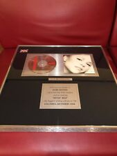 Mariah Carey Music box 5X Platinum UK In House AWARD