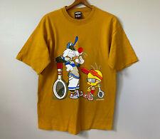 Vintage 1994 Looney Tunes Tweety Bird T Shirt Sylvester Tennis Sport Hip Hop 90s