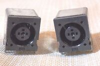 Lot of 2 Dell Latitude Vostro Inspiron Round Barrel OEM DC power jack connector