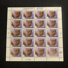 Mint OG USPS Stamp Sheet Louis Armstrong 1994 Edition Scott 2982 B482