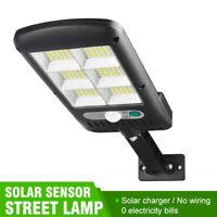 Lampe Solaire Extérieur 120led Détecteur de Mouvement éclairage Solaire étanche