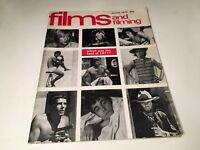 Films And Filming Vintage UK Cinema Magazine January 1972 Nicolas Roeg Art Film