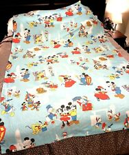 VINTAGE Walt Disney Productions Frontierland TWIN SHEET SET With Pillowcases