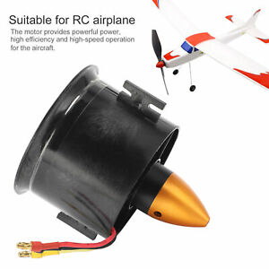 QX‑Motor 70mm EDF 6 Blades Ducted Fan w/ QF2822‑3000KV 4S Motor for RC Airplane