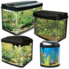 Interpet Fish Pod Aquarium & Cabinets 39 48 64 120 LED Light Tropical Fish Tank