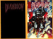 2 DeathBlow-Image Comic Book Lot- #s 1 & 2(1993)