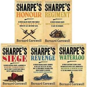 The Sharpe Series Bernard Cornwell 5 Books Collection Set (16-20) Waterloo, Sieg
