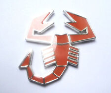 Abarth Emblem orange  Fiat 500/600/850 124 Spider  Grande Punto
