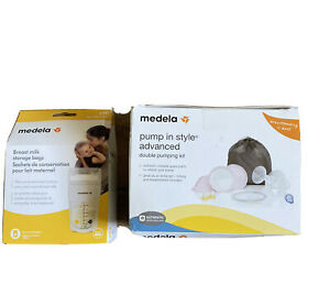 Medela Lot Pump In Style Advanced Double Pumping Kit & Milk Storage Bags