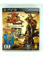 Jak And Daxter Collection Remastered HD Playstation 3 Game Case & Manual Tested