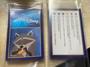 25x Disney Picture Additional Trivial Pursuit Extra Trivia Question Quiz Cards