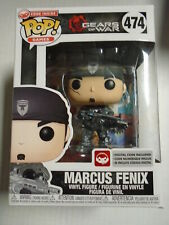 Funko MARCUS FENIX Gears of War #474 Pop New